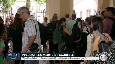 Autoridades darão coletiva sobre a prisão de suspeitos de matar Marielle Franco - Autoridades darão coletiva sobre a prisão de suspeitos de matar Marielle Franco.