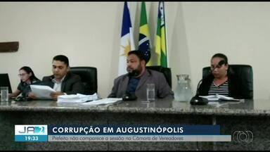 Prefeito de Augustinópolis não comparece a sessão que analisa pedido de cassação - Prefeito de Augustinópolis não comparece a sessão que analisa pedido de cassação