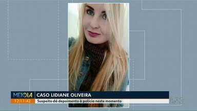 Suspeito de matar a companheira a facadas presta depoimento - Ele também feriu a mãe da vitima; o crime foi em Ponta Grossa.