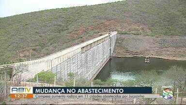 Falta de chuva altera calendário de abastecimento de água em cidades do Agreste - Barragem de Jucazinho está com 2,78% da capacidade total, conforme informou a Compesa.
