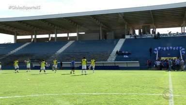 Confira como ficou o novo estádio do Cruzeiro em Cachoeirinha - Assista ao vídeo.
