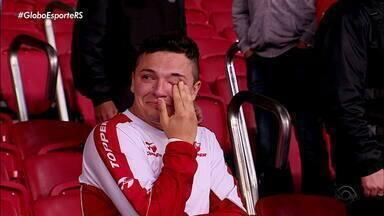 Reencontro do Internacional com o Beira-Rio na Libertadores é com vitória - Assista ao vídeo.