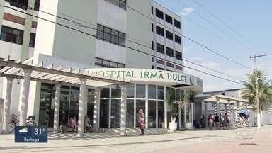 Falta de ar condicionado prejudica atendimento em hospital em Praia Grande, SP - Hospital Irmã Dulce está com problemas na climatização.