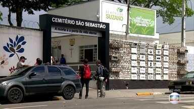 Assassinos da escola de Suzano são enterrados - Os dois assassinos também morreram no massacre da escola em Suzano. O corpo de Luiz Henrique de Castro já foi enterrado em Suzano.