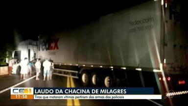 Tragédia em Milagres. Tiros que mataram 14 pessoas partiram das armas de policiais - Confira outras notícias no g1.com.br/ce