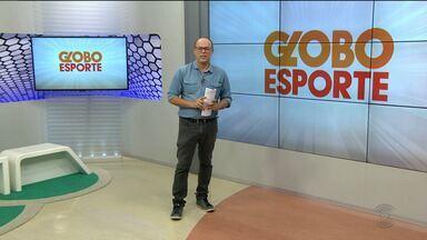 Globo Esporte CG: confira a íntegra do Globo Esporte desta quinta-feira (14.03.19) - Marcos Vasconcelos aborda as últimas notícias do esporte na Paraíba
