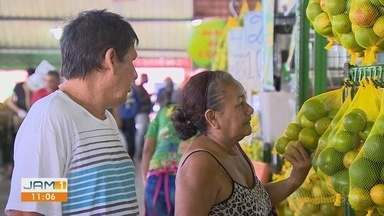 Consumidores amazonenses estão de olho no preço dos alimentos - Aumento no valor dos produtos, muda rotina de consumidores.
