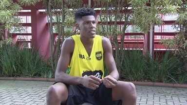 Destaque da Copa TV Tribuna de Basquete é convocado para a seleção brasileira - Ala-pivô Gabriel Antero vai defender o Brasil sub-18 de basquete 3x3.