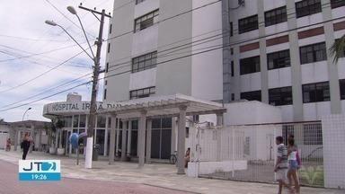 Moradores reclamam da falta de ar condicionado em hospital de Praia Grande - hospital só está realizando cirurgias de emergência.