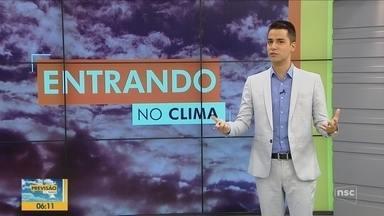 Quadro 'Entrando no Clima' fala sobre as condições do tempo para o seu compromisso - Quadro 'Entrando no Clima' fala sobre as condições do tempo para o seu compromisso