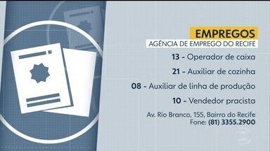 Confira as vagas de emprego disponíveis nesta sexta-feira - São mais de 50 vagas oferecidas na Agência de Emprego do Recife.