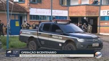 Polícia Civil faz operação de repressão a crimes em Itajubá - Polícia Civil faz operação de repressão a crimes em Itajubá