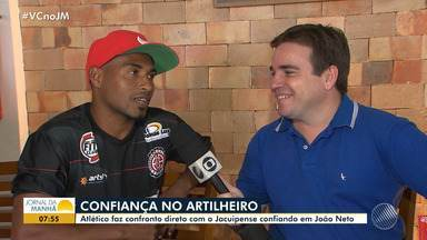 Campeonato Baiano: Atlético-BA enfrenta o Jacuipense no domingo (17) - Veja os destaques da partida.