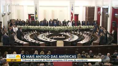 Tribunal de Justiça comemora 410 anos com festa para convidados do Brasil e do exterior - Veja como foi a noite de comemorações no Fórum Ruy Barbosa.