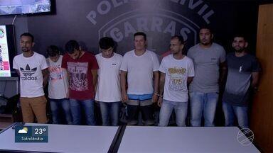 Polícia prende quadrilha que furtava caixas eletrônicos em MS - Dos dez integrantes do grupo criminoso, oito já estavam presos em unidades de segurança.