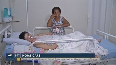 Serviços de atendimento hospitalar são retomados na casa de paciente de Rondonópolis - Serviços de atendimento hospitalar são retomados na casa de paciente de Rondonópolis