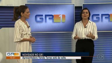 Vanda Torres retorna à apresentação do GR1 - A jornalista volta às telas da TV Grande Rio a partir da segunda-feira (18).