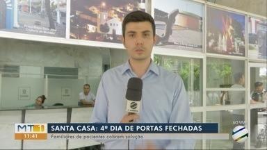 Santa Casa: prefeito de Cuiabá fala sobre o assunto - Santa Casa: prefeito de Cuiabá fala sobre o assunto.