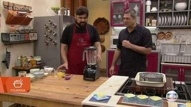 Carlos Normando ensina receita de Queijadinha - Cozinheiro dá dica para fazer o delicioso doce português