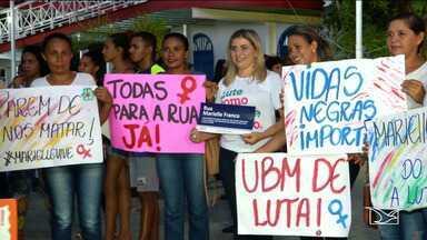Mulheres e homens participam de caminhada no Maranhão - Caminhada que aconteceu no município de Caxias e que reuniu homens e mulheres pedia por justiça social e igualdade de direitos.