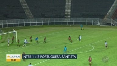 Série A-2 do Paulista: Inter perde em casa para a Portuguesa Santista - Confira os três gols do jogo e a polêmica que marcou a partida.