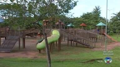 Parque ecológico é opção para diversão de crianças em Rio Preto - O Parque Ecológico de São José do Rio Preto (SP) ficará aberto nesta segunda-feira (18) e é uma opção de diversão para as crianças em véspera de feriado na cidade.