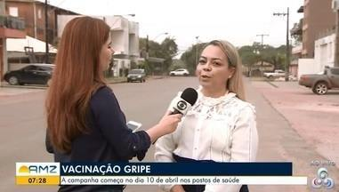 Macapá está se preparando para realizar a campanha nacional contra a gripe - Ação começa no dia 10 de Abril nos postos de saúde.