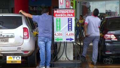Sobe e desce: preço da gasolina apresenta variações na capital - Sobe e desce: preço da gasolina apresenta variações na capital