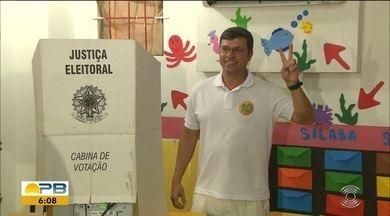 Vitor Hugo (PRB) é eleito prefeito de Cabedelo, na Paraíba - Eneide Regis (PSD) ficou em segundo lugar (19,55%), seguida de Marcos Patrício (PSOL)(4,61%) e de José Eudes (PTB) (2,77%).