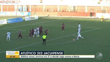 Baianão: confira os destaques dos jogos da última rodada do campeonato - Veja as partidas de Juazeirense x Bahia de Feira, Jacobina x Conquista e Atlético x Jacuipense.