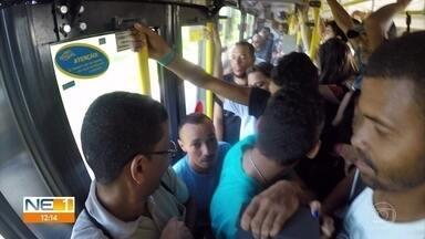 TI Sufoco: passageiros enfrentam desafios para atravessar o Grande Recife - Série de reportagens mostra o cotidiano de quem depende dos ônibus