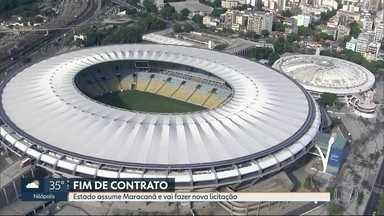 Governo do RJ anuncia cancelamento da concessão do estádio do Maracanã - O governador Wilson Witzel anunciou nesta segunda-feira (18) o rompimento do contrato com a concessionária que administra o Maracanã. O estado vai assumir a gestão do estádio até fazer uma nova licitação.
