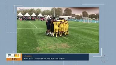Equipe de Campos, RJ, representa Brasil nas Olimpíadas Especiais - Assista a seguir.