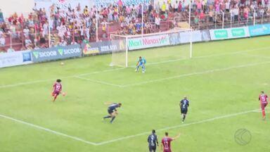 Guarani-MG e Tombense empatam e seguem na parte de baixo da tabela - Bugre abre o placar no primeiro tempo, perde gols e sofre o empate no Farião