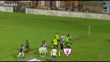 Águia arranca empate diante do Paragominas na Arena Verde - Azulão e Jacaré seguem com chances de classificação às semifinais