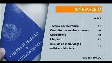 Veja as vagas de emprego disponíveis por meio do Sine Maceió - Oportunidade é para diversas vagas.
