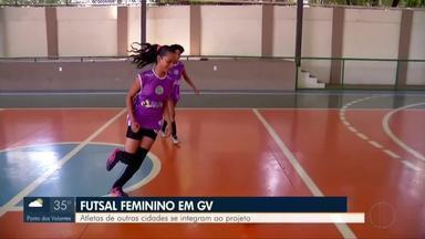 Futsal feminino faz sucesso em Governador Valadares - Projeto de 22 anos revela talentos em Valadares e outras cidades da região.