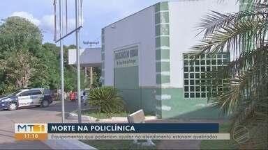 Respirador mecânico quebrado na Policlínica do Verdão - Respirador mecânico quebrado na Policlínica do Verdão.