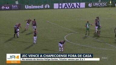 JEC vence a Chapecoense - JEC vence a Chapecoense