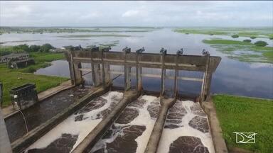TAC será proposto para recuperação da barragem do rio Pericumã - A Comissão de Direitos Humanos da OAB disse que mais de 300 famílias foram atingidas na região.