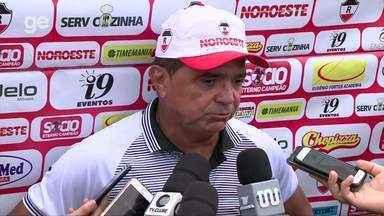 Flávio estuda Altos antes de duelo que vale liderança ao River-PI - Flávio estuda Altos antes de duelo que vale liderança ao River-PI