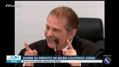 Corpo do ex-prefeito, Fernando Coutinho Jorge, é velado em capela em Belém - Ele sofria do mal de Alzheimer e morreu em Brasília aos 79 anos.