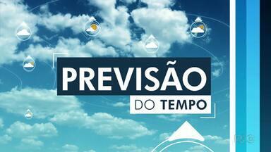 Chuva dá uma trégua no sudoeste do estado nesta terça-feira - Em Pato Branco e Francisco Beltrão o sol aparece entre nuvens. Em Foz do Iguaçu, ainda tem previsão de chuva nesta terça.