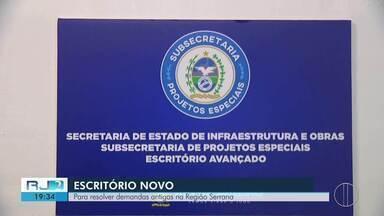 Teresópolis inaugura escritório para agilizar demandas antigas das tragédias na Serra - Assista a seguir.