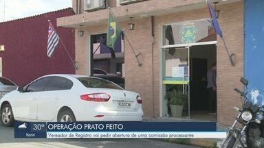 Polícia Federal investiga desvio de recursos na compra de materiais escolares no Vale - Vereadores de Registro analisam o relatório da Operação Prato Feito.