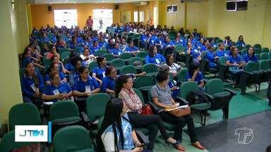 Cerca de 600 agentes de saúde participam de capacitação sobre trabalho infantil - Capacitação visa preparar os profissionais para identificar e coibir casos de trabalho infantil em Santarém.
