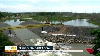 Fundação Renova orienta moradores nas áreas de risco em Linhares, ES - Fundação Renova orienta moradores nas áreas de risco em Linhares, ES