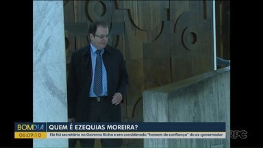 """""""Homem de confiança"""" de Beto Richa, Ezequias Moreira também foi preso na Quadro Negro - Ezequias Moreira foi secretário no Governo Richa e também está envolvido em outros processos junto com o ex-governador."""