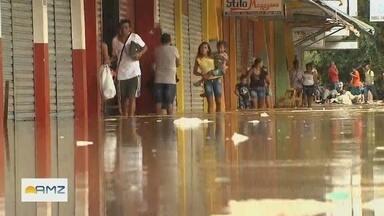 Agência Nacional de Águas discute a crise hídrica no Brasil - Um dos temas foi a cheia do rio Madeira.