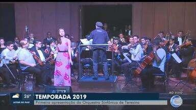 Orquestra Sinfônica de Teresina começa apresentações da temporada 2019 - Orquestra Sinfônica de Teresina começa apresentações da temporada 2019